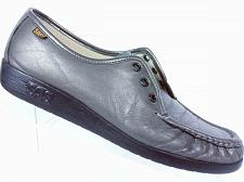 Buy SAS Women's Siesta Pewter Gray Leather Lace Up Oxford Shoes Size 9 M