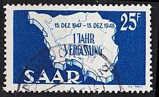 Buy GERMANY Saar [1948] MiNr 0261 II ( O/used )