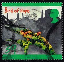 Buy Great Britain #1466 Bird of Hope; Used (1.10) (3Stars)  GBR1466-01XVA