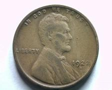 Buy 1922-D LINCOLN CENT PENNY VERY GOOD / FINE VG/F NICE ORIGINAL COIN BOBS COINS