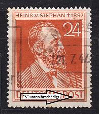 Buy GERMANY Alliiert Gemeinschaft [1947] MiNr 0963 II ( O/used ) [01] Plattenfehler