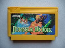 Buy Walt Disney's The Jungle Book. Famicom Dendy NES Yellow Casette Video Games.