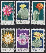 Buy GERMANY DDR [1970] MiNr 1625-30 ( OO/used ) Blumen