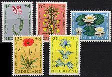 Buy NIEDERLANDE NETHERLANDS [1960] MiNr 0746-50 ( **/mnh ) Blumen