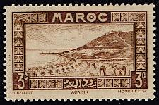 Buy French Morocco #126 Roadstead at Agadir; MNH (4Stars) |FRM126-03XRS