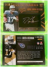 Buy NFL Dorial Green-Beckham Titans autographed 2015 Panini Black Gold Patch Sp/ 99