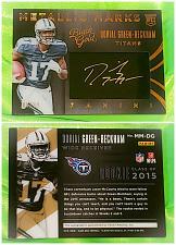 Buy NFL Dorial Green-Beckham Titans autographed 2015 Panini Black Gold Patch Sp/ 99