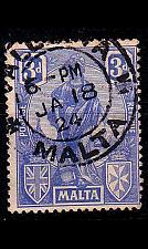 Buy MALTA [1922] MiNr 0088 b ( O/used )