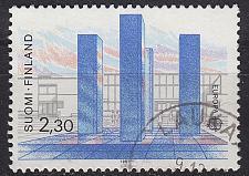 Buy FINLAND SOUMI [1987] MiNr 1022 ( O/used ) Architektur