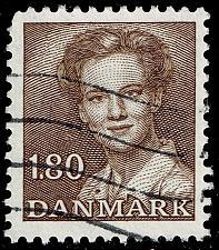 Buy Denmark #702 Queen Margrethe II; Used (3Stars) |DEN0702-04XBC