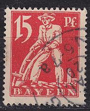 Buy GERMANY Bayern Bavaria [1920] MiNr 0180 ( O/used )