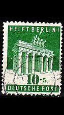 Buy GERMANY Alliiert AmBri [1948] MiNr 0101 E ( O/used )