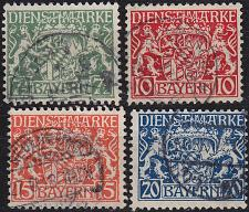 Buy GERMANY Bayern Bavaria [Dienst] MiNr 0025 y ex ( O/used ) [01]