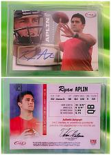Buy NFL Ryan Aplin Autographed 2013 Sage Hit Rookie #2 Mint