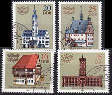 Buy GERMANY DDR [1983] MiNr 2775-78 ( OO/used ) Architektur