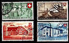 Buy SCHWEIZ SWITZERLAND [1946] MiNr 0471-74 ( O/used ) [01] Pro Patria