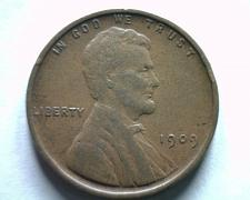 Buy 1909 LINCOLN CENT PENNY EXTRA FINE+ XF+ EXTREMELY FINE+ EF+ NICE ORIGINAL COIN