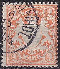 Buy GERMANY Bayern Bavaria [1876] MiNr 0044 a ( O/used ) [02]