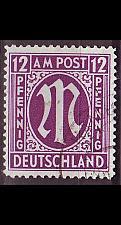 Buy GERMANY Alliiert AmBri [1945] MiNr 0015 B ( O/used )