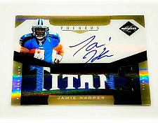 Buy JAMIE HARPER TITANS AUTOGRAPHED 2011 PANINI LIMITED 6 PIECE JERSEY PATCH /299