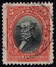 Buy Ecuador #206 Jose M. Urvina; Used (0.25) (3Stars) |ECU0206-04XRS