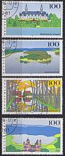 Buy GERMANY BUND [1996] MiNr 1849-52 ( O/used ) Landschaft