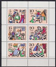 Buy GERMANY DDR [1967] MiNr 1323-28 Kleinbogen ( **/mnh )