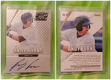 Buy MLB ANDY BURNS TORONTO BLUE JAYS AUTOGRAPHED 2013 PANINI DRAFT PICKS MINT