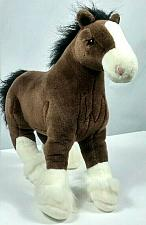 """Buy Gund Clyde Clydesdale Horse Plush Stuffed Animal 15"""""""
