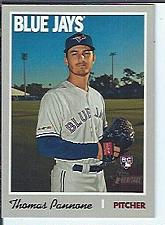Buy Thomas Pannone 2019 Topps Heritage High Numbers RC SP