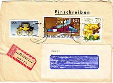 Buy GERMANY DDR [1980] MiNr 2556 ( Brief ) Pilze