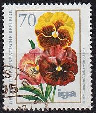 Buy GERMANY DDR [1975] MiNr 2075 ( OO/used ) Blumen