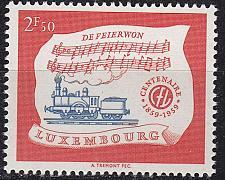 Buy LUXEMBURG LUXEMBOURG [1959] MiNr 0611 ( **/mnh ) Eisenbahn
