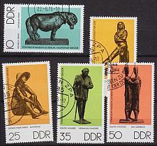 Buy GERMANY DDR [1976] MiNr 2141-45 ( O/used ) Kunst