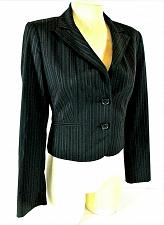 Buy EXPRESS DESIGN STUDIO womens Sz 2 L/S black BUTTON DOWN fully LINED jacket (C5)