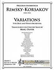 Buy Rimsky-Korsakov - Oboe Variations
