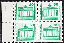 Buy GERMANY DDR [1990] MiNr 3346 4er ( **/mnh ) Architektur