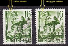 Buy GERMANY Alliiert Franz. Zone [RheinlPfalz] MiNr 0006 y I,II ( O/used ) [01]