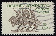 Buy US #1934 Frederic Remington; Used (0.25) (2Stars) |USA1934-04