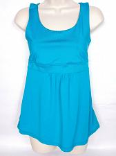 Buy Z By Zella Women Racerback Tank Top Small Athletic Teal Shelf Bra Sleeveless