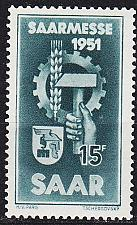 Buy GERMANY Saar [1951] MiNr 0306 ( **/mnh )