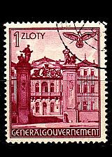 Buy GERMANY REICH GenGouv [1940] MiNr 0051 ( O/used )