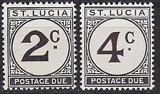 Buy ST. LUCIA [Porto] MiNr 0011-12 ( **/mnh )