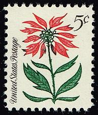 Buy US #1256 Poinsettia; MNH (5Stars) |USA1256-03