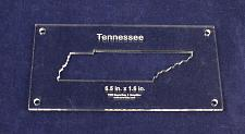 """Buy State of Tennessee 6.5 x 1.6- 1/4"""" Quilt Template- Acrylic - Inside Long Arm/Sew"""