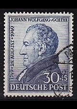 Buy GERMANY Alliiert AmBri [1949] MiNr 0110 ( O/used ) [01] sehr schön