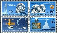 Buy GERMANY DDR [1986] MiNr 3005-08 4er ( O/used ) Weltraum
