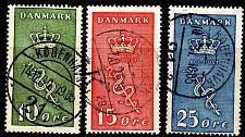 Buy DÄNEMARK DANMARK [1929] MiNr 0177-79 ( O/used ) [02]