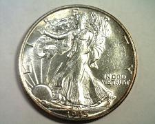 Buy 1945-S WALKING LIBERTY HALF CHOICE ABOUT UNCIRCULATED+ CH AU+ NICE ORIGINAL COIN