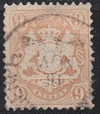 Buy GERMANY Bayern Bavaria [1873] MiNr 0028 Y ( O/used ) [02]